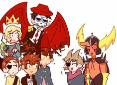 Room for two more? Cartoon Games, Cartoon Shows, Eddsworld Tord, Fandom Crossover, Anime Crossover, Bad Friends, Cartoon Crossovers, Star Vs The Forces Of Evil, Force Of Evil