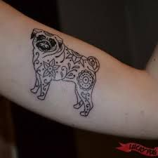Image result for pug tattoos