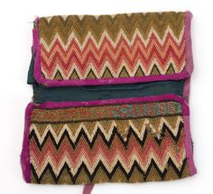 Flame stitch stripe