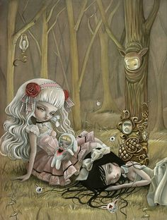 Pop surrealism by Mark Ryden Mark Ryden, Art Et Illustration, Illustrations, Art Beat, Art Amour, Art Kawaii, Pop Art, Art Mignon, Inspiration Art