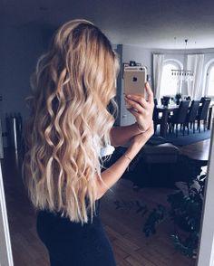 belleza, blonde hair, and rubia image My Hairstyle, Messy Hairstyles, Pretty Hairstyles, Hairstyle Ideas, Corte Y Color, Cut Her Hair, Hair Cuts, Gorgeous Hair, Hair Looks