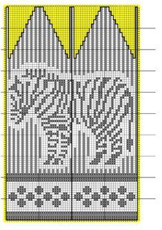 Photo Knit Mittens, Mitten Gloves, Knitting Charts, Knitting Patterns, Fair Isle Chart, Fair Isle Knitting, Stuffed Animal Patterns, Tatting, Knit Crochet