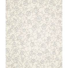 Liberty Art Fabrics Philippa Wallpaper in White Jersey (390 BRL) ❤ liked on Polyvore featuring home, home decor, wallpaper, fall home decor, autumn wallpaper, white wallpaper, white home accessories and typography wallpaper
