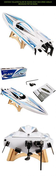 Costzon Volantex BLADE RC Racing Boat High Speed 40km/h Brushless PNP No Radio #camera #gadgets #plans #volantex #tech #products #technology #parts #fpv #drone #kit #shopping #racing #boat