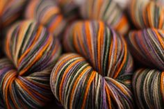 Sheepshanks - Pumpkin Patch -Moonrover Yarns
