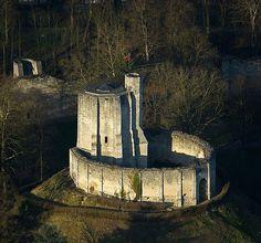 Château Fort de Gisors, Haute-Normandie, France.