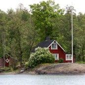 LKS 20100927 Kesähuvila merenrannalla Raaseporin saaristossa LEHTIKUVA Sixten Johansson
