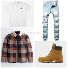 Dope Outfits For Guys, Swag Outfits Men, Winter Outfits Men, Cute Outfits, Boys Fashion Dress, Tomboy Fashion, Mens Fashion, Outfit Grid, Aesthetic Clothes