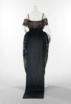 Evening dress Department Store: Weeks  Date: 1918–20 Culture: French Medium: silk, rhinestones, metal Accession Number: 2009.300.3569