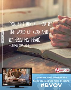 Watch Gloria Copeland and Kellie Copeland on Believer's Voice of Victory as they share how allowing God to diagnose your fears, and being open to His correction, will cripple the devil and send fear packing.