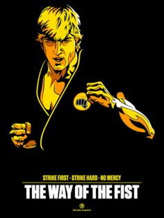 Though Johnny was a total bully in The Karate Kid, you got to like how he dropped his upperclass, macho attitude after being bested by Daniel and paying him respect. John Lawrence True Hero by Salvador Anguiano, via Behance The Karate Kid 1984, Karate Kid Movie, Karate Kid Cobra Kai, Cobra Kai Wallpaper, Karate Tournaments, William Zabka, Cobra Kai Dojo, Youtube Original, Ralph Macchio