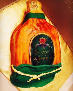 Crown Royal Cake Apple. Facebook: Tori Fleming Instagram: DessertQueen_
