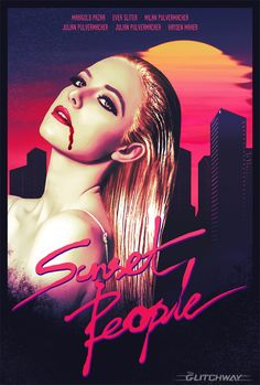 """My Poster design for the movie project """"Sunset People"""". (Movie by James Demitri) #Illustration #PosterDesign"""
