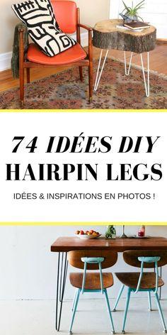 74 Idées de DIY Avec Des Hairpin Legs !