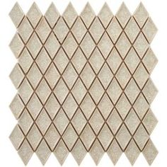 Merola Tile Crackle Ice - Ceramic Mosaic Wall Tile