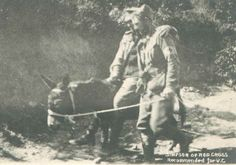 Simpson and his Donkey at Gallipoli