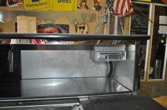 Marine Grade Stereo on a hot dog cart - TopDogCarts.com