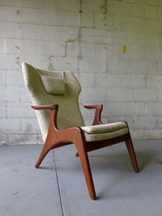 Adrian Pearsall styled Mid Century Modern Lounge Chair