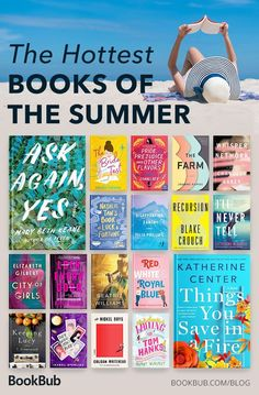 These are the hottest books of summer! Summer Books, Summer Reading Lists, Beach Reading, Good Summer Reads, Book Club Books, Book Lists, Good Books, Ya Books, Books To Read In Your 20s