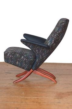 Rare And Beautiful Penguin Chair By Theo Ruth, 1950u0027s Holland.