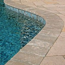 Pool With Courtstone Natural Gray Liner Google Search