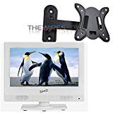 "#8: Supersonic SC-1311 White 13.3"" LED HDTV 1080p Television w/ HDMI/USB Wall Mount - Shop for TV and Video Products (http://amzn.to/2chr8Xa). (FTC disclosure: This post may contain affiliate links and your purchase price is not affected in any way by using the links)"