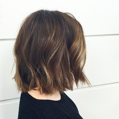 """Lauren Conrad inspired cut.. #cleartheshoulders #habitsalon"""