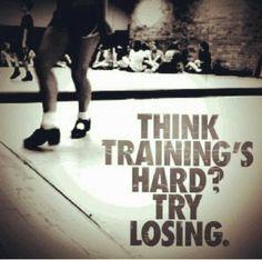 Think training's hard....