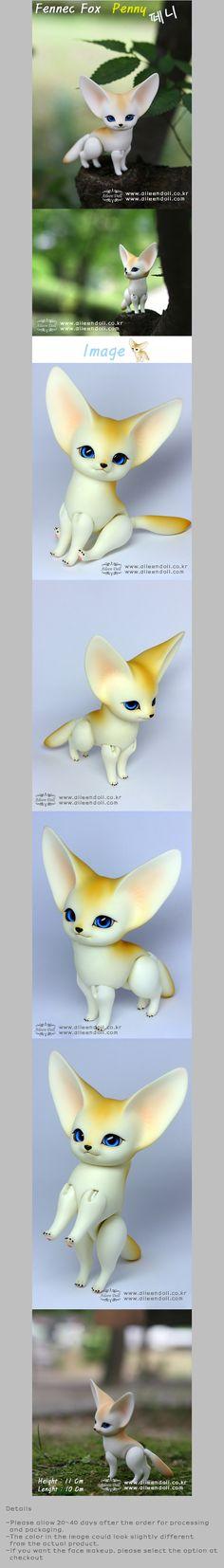 Fennec Fox BJD by Aileen Doll aileendoll.com  I love him!