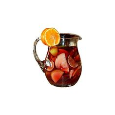 Sangria ❤ liked on Polyvore featuring food, drinks, fillers, food and drink and decor