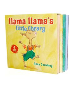 Another great find on #zulily! Llama Llama Board Book Set by Penguin #zulilyfinds