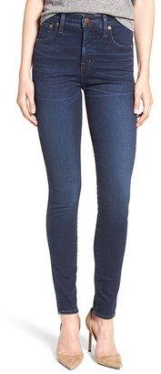 Shop Now - >  https://api.shopstyle.com/action/apiVisitRetailer?id=532689273&pid=uid6996-25233114-59 Women's Madewell High Waist Skinny Jeans  ...