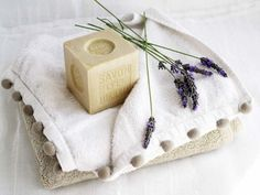 Soap and Lavender Art Print