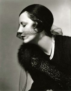 Irene Dunne 1932 - ( Strong portrait ) photo in sepia by Roman Freulich