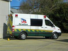 Acadian Ambulance Arnaudville, Louisiana 2009-2010 Dodge Sprinter Ambulance conversion by Medtecnel Louisiana