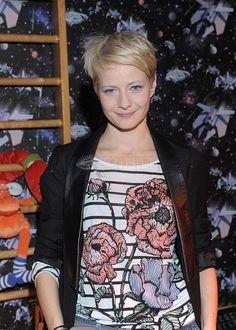 Małgorzata Kożuchowska - love this style!