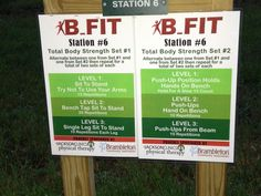 The Jackson Clinics and Brambleton Community Association have partnered to  design a new workout circuit on the outdoor Fit Trails located in their community. http://www.thejacksonclinics.com/services/health/b-fit #fittrail #bfit