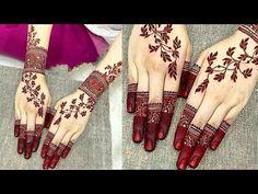 Latest mehndi design for Eid ul Azha/Rakchabandhan 2019 Beauty Hacks Lips, Latest Mehndi, Rakhi, Hand Henna, Eid, Hand Tattoos, Hands, Youtube, Design