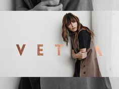 VETTA // Logo and Identity on Behance Modern Typeface, Creating A Brand, Timeless Beauty, Fashion Brands, Identity, Behance, Logos, Celebrities, Behavior