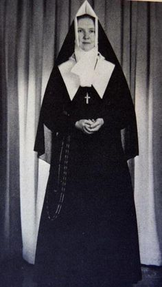 Mother St Christime Marie, CND  Principal & Alumna of Villa Maria Academy in the Bronx ~ also MY Alma Mater