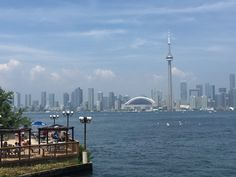 View of Toronto from the island