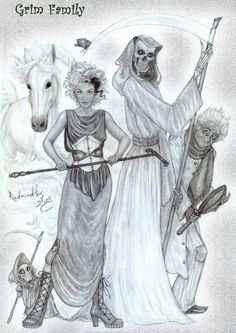 Grim-Family by Redmindfox.deviantart.com on @DeviantArt