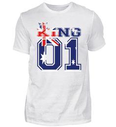 couple land king 01 prince Australien T-Shirt Prince, Basic Shirts, Couples, Sports, Tops, Fashion, Cotton, Moda, La Mode