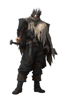 ArtStation - Character Concept Art: Warrior, Guillem Daudén