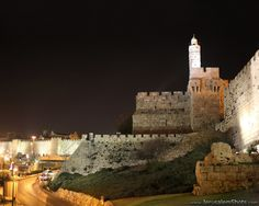 Tower of David and the walls of Old Jerusalem