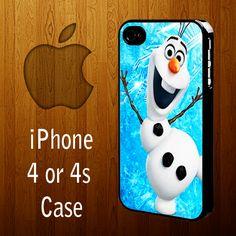  Top 20 Olaf - Frozen   B-1011 Disney Frozen olaf iPhone 4 or 4s case   statusisasi - Accessories on ArtFire
