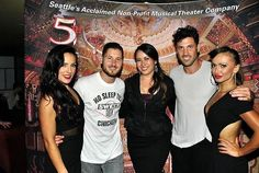 Sharna,Val,Maks and Karina in Seattle (2014)