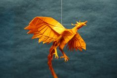 28 Positively Phenomenal Paper Phoenixes.  A collection of amazing phoenix origami and paper craft.