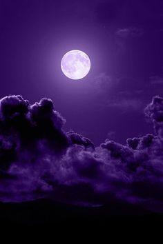 purple & moon