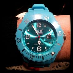 My New Turquoise Ice Watch